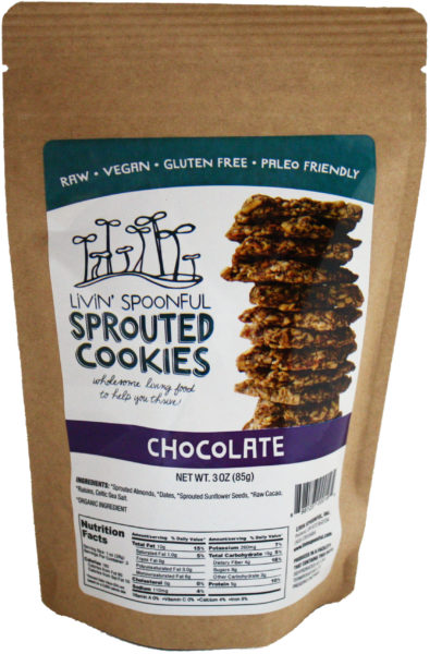 Livin' Spoonful Sprouted Chocolate Cookies